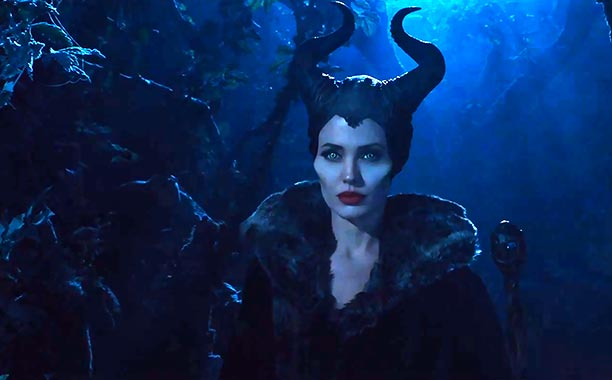 Angelina Jolie como Maléfica