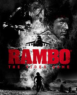 Carátula de Rambo The Video Game