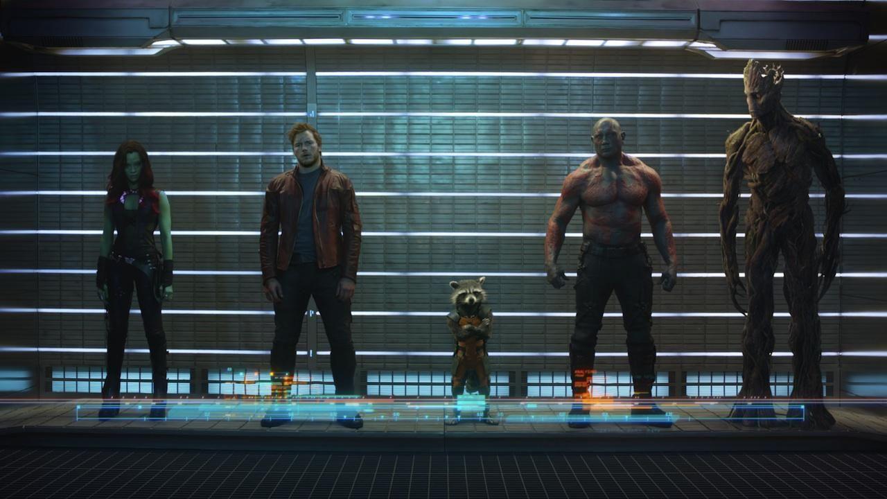 """Protagonistas de """"Guardianes de la Galaxia"""""""