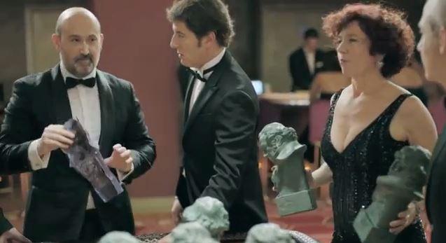 Imagen de la promo de los premios Goya 2014