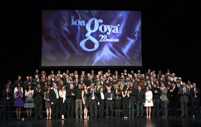 Nominados a los Premios Goya 2014