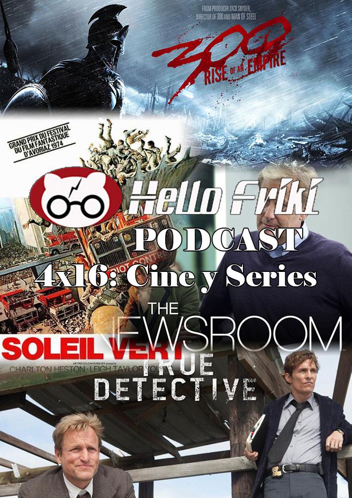 HF 4x16 Cine y Series: 300: El Orígen de un imperio, True Detective