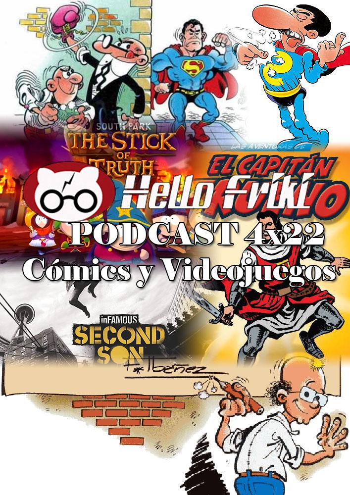 HF 4x22 Cómics y Videojuegos: Cómics españoles de nuestra niñez/juventud