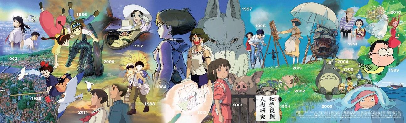 Studio Ghibli Mural