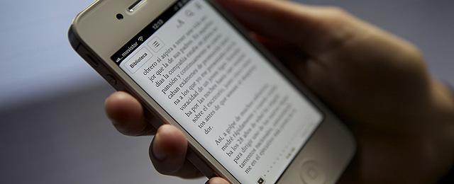 Leer en el smartphone