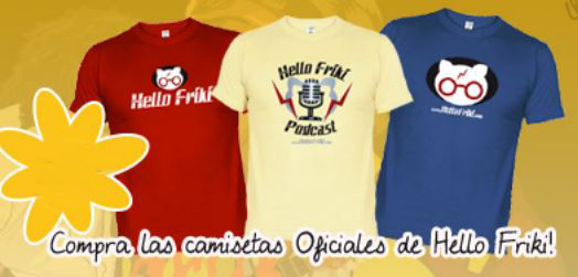 Camisetas de Hello Friki