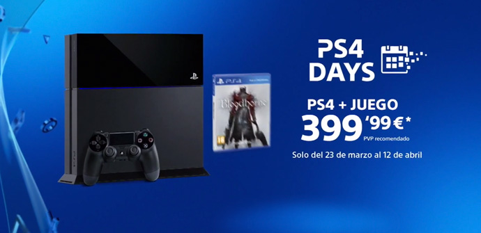 PS4 lanza un pack de la consola + Bloodborne por 399€