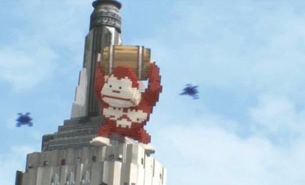 """Vídeo promocional de """"Pixels"""""""