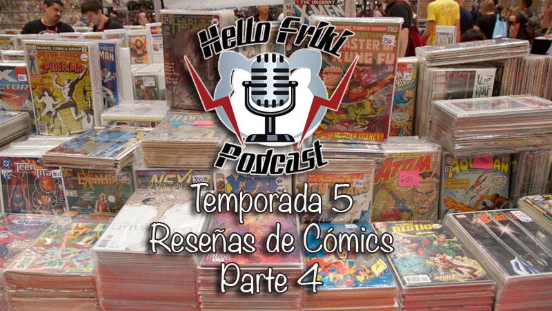 HF Reseñas de cómics de la Temporada 5 (Parte 4)