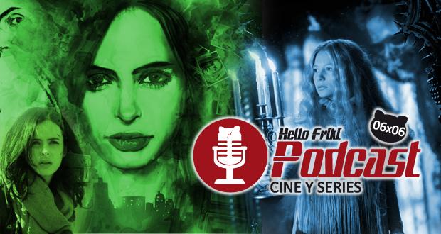 HF 6x06 Cine y Series: Jessica Jones, La cumbre escarlata...