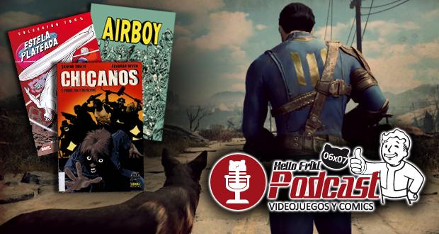 HF 6×07 Videojuegos y Cómics: Fallout 4, Tekken, Airboy...