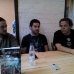 Carlos J. Lluch, Víctor M. Yeste y Javier Trescuadras
