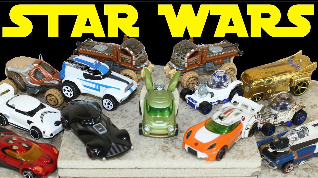 Hot Wheels apuesta por los coches en miniatura de Star Wars