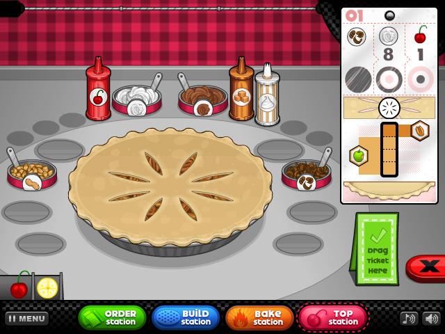 Crítica: Papa's Bakeria. Conviértete en un chef de tartas