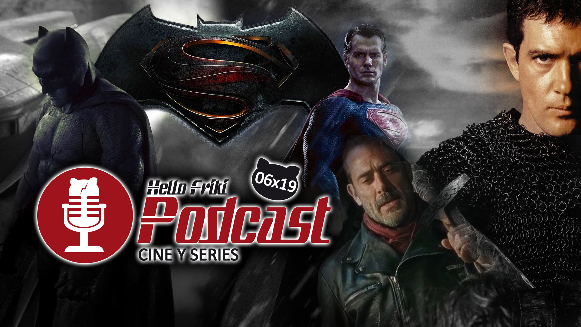 HF 6×19 Cine y Series: Batman v Superman, The Walking Dead...