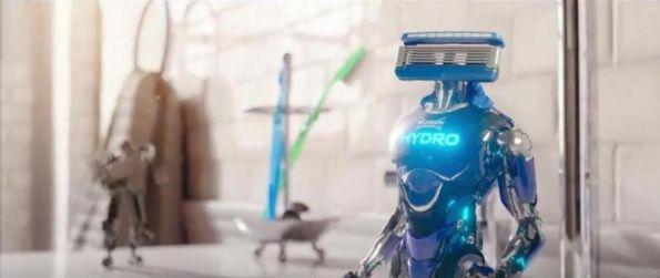 Wilkinson Sword Hydro 5 estrena promo con maquinillas-robot