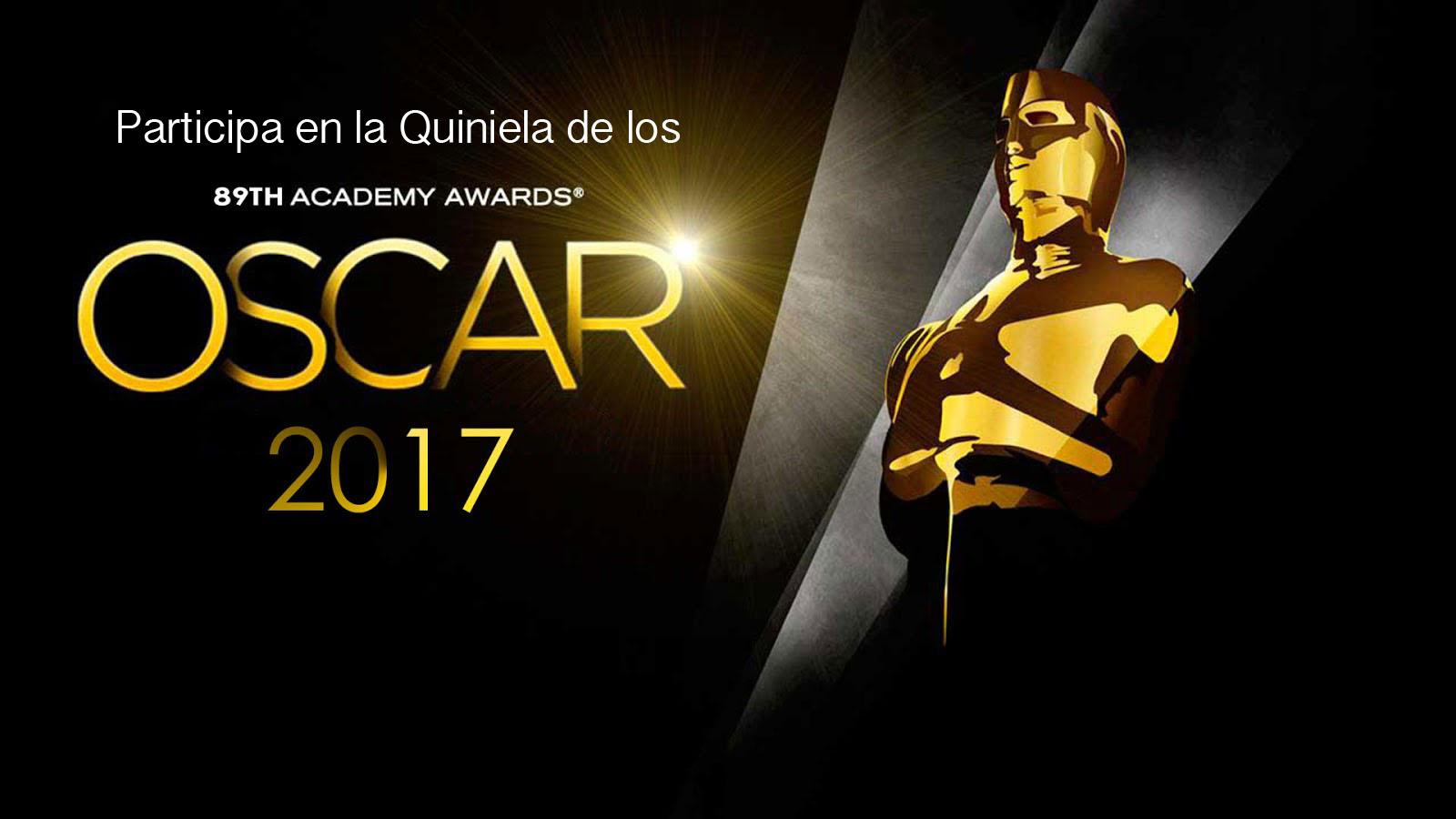 ¡Participa en la quiniela de los Oscars 2017 de Hello Friki!