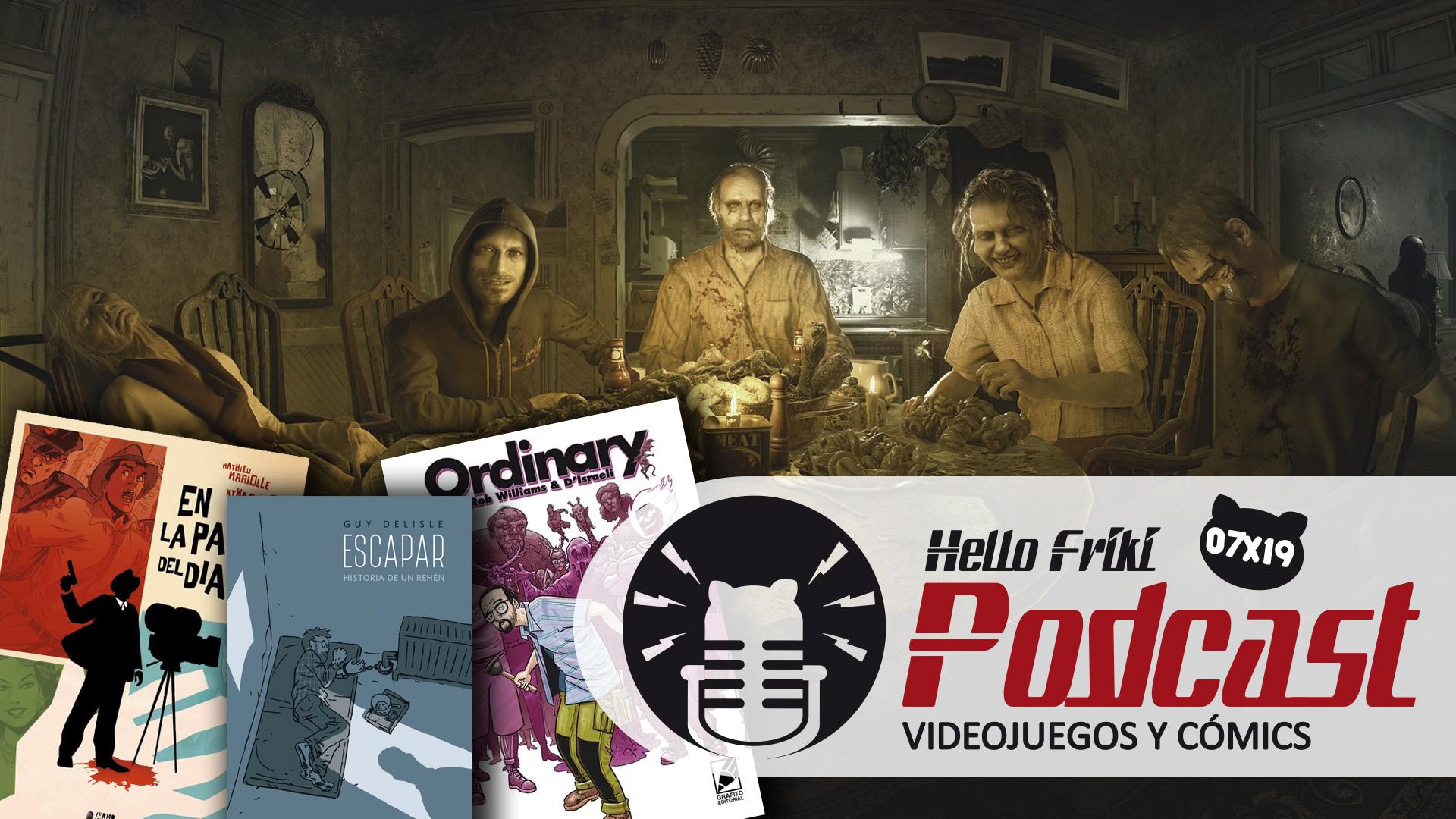 HF 7x19 Videojuegos y Cómics: Resident Evil VII, malos rollos entre autores de cómic...
