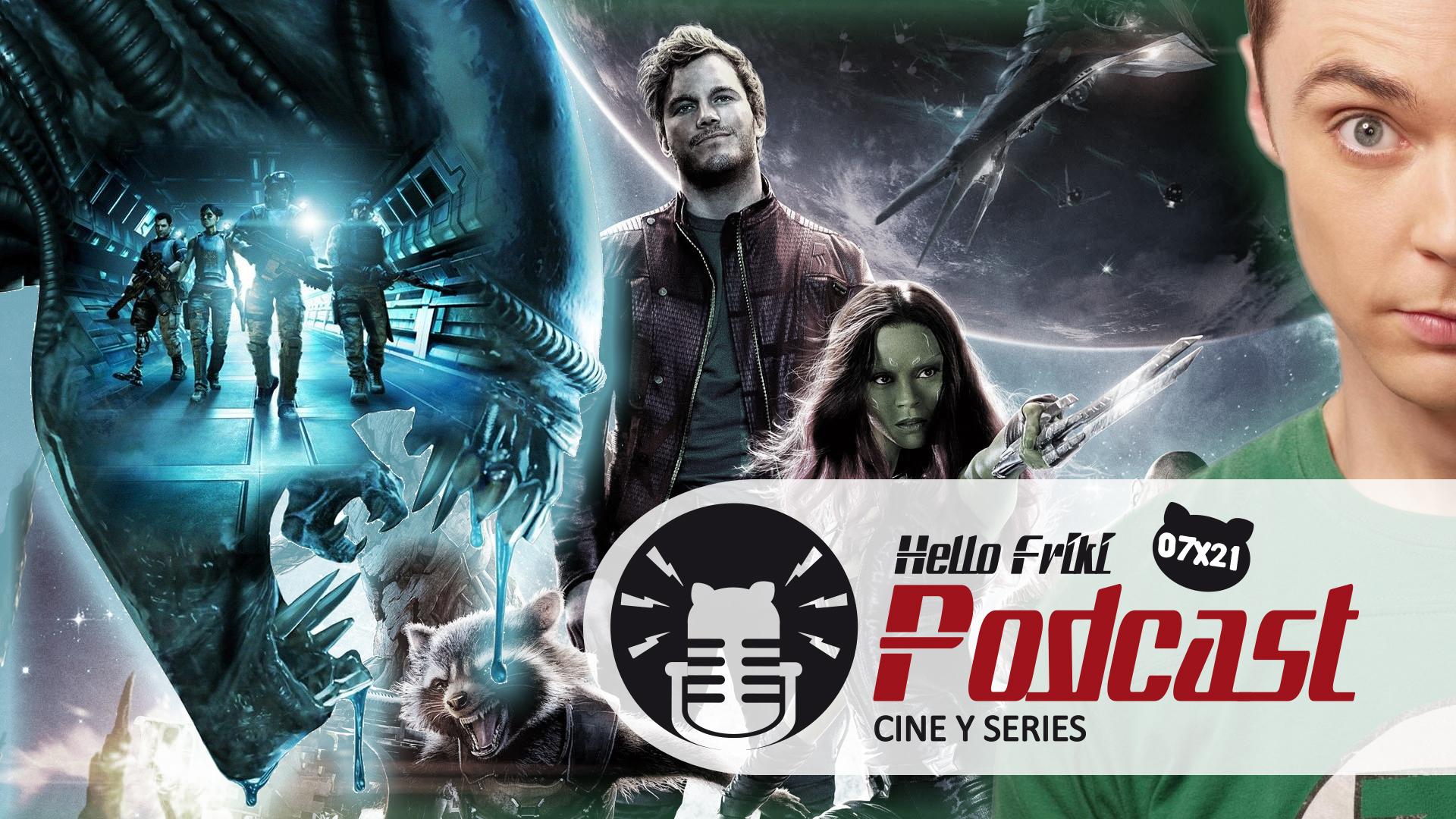 HF 7x21 Cine y Series: Alien Covenant, K-Pax, Supergirl...