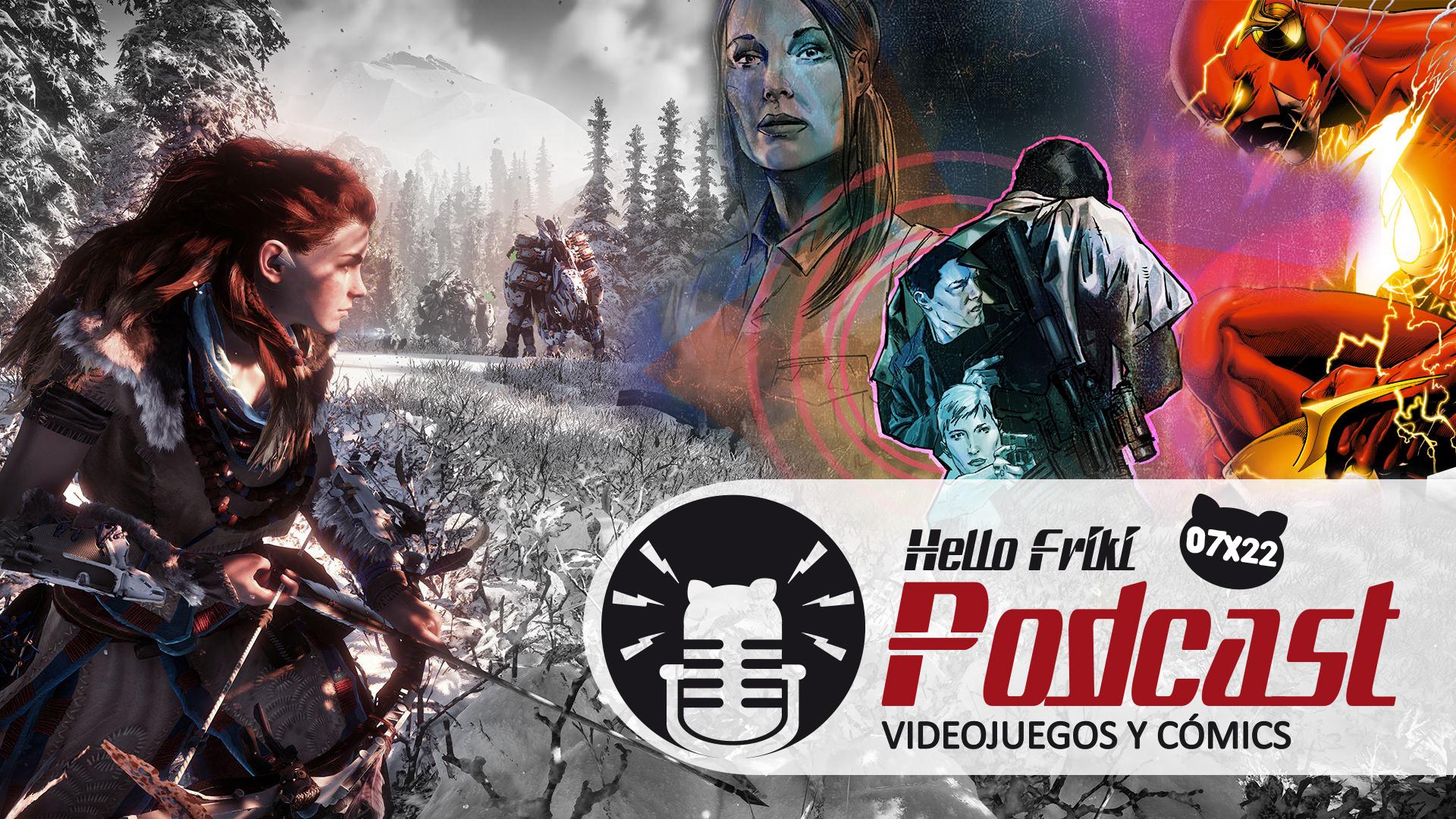 HF 7x22 Videojuegos y Cómics: Horizon Zero Dawn, Briggs Land...