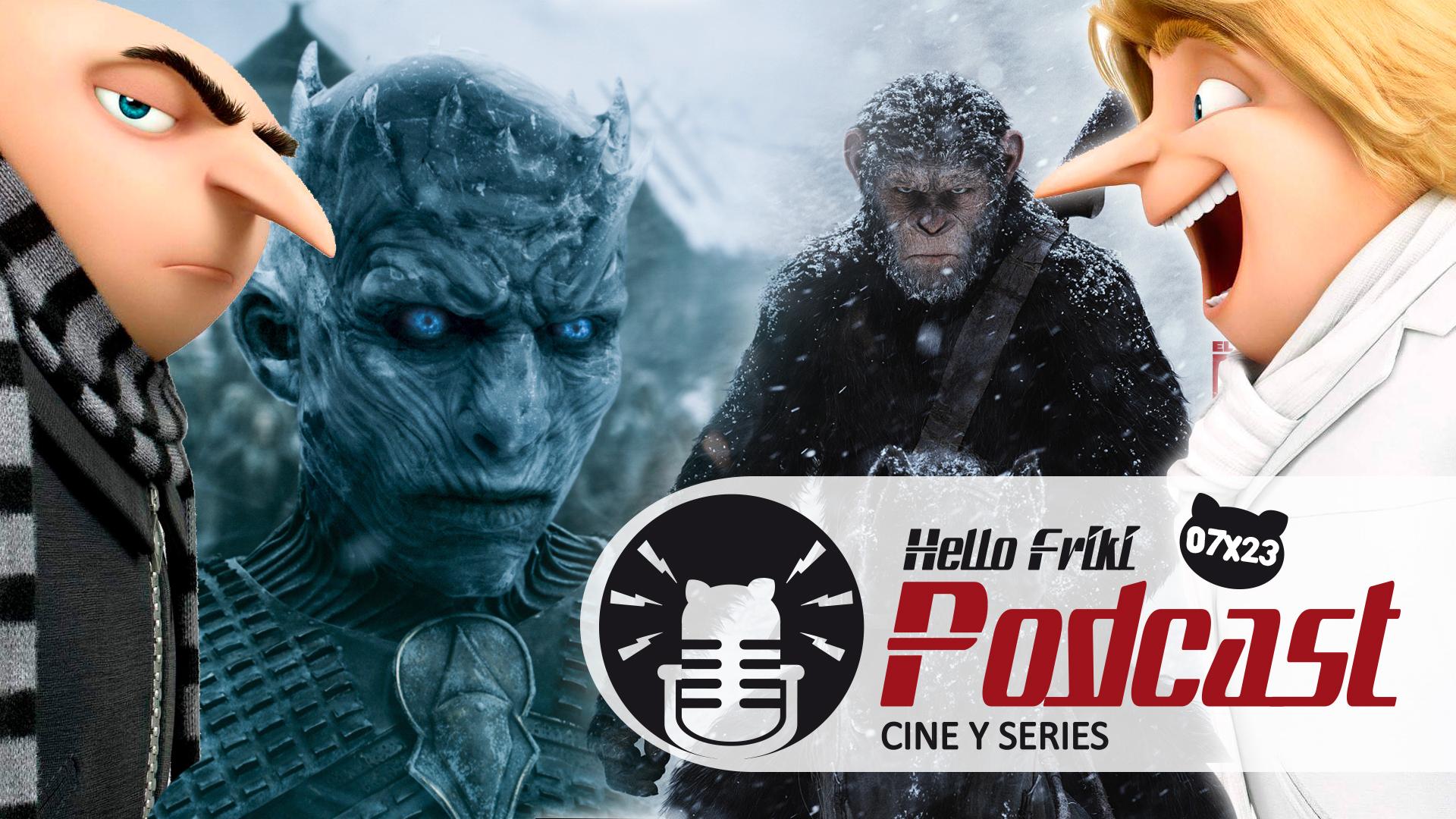 HF 7x23 Cine y Series: Emmy, Juego de Tronos, La guerra del planeta de los simios...