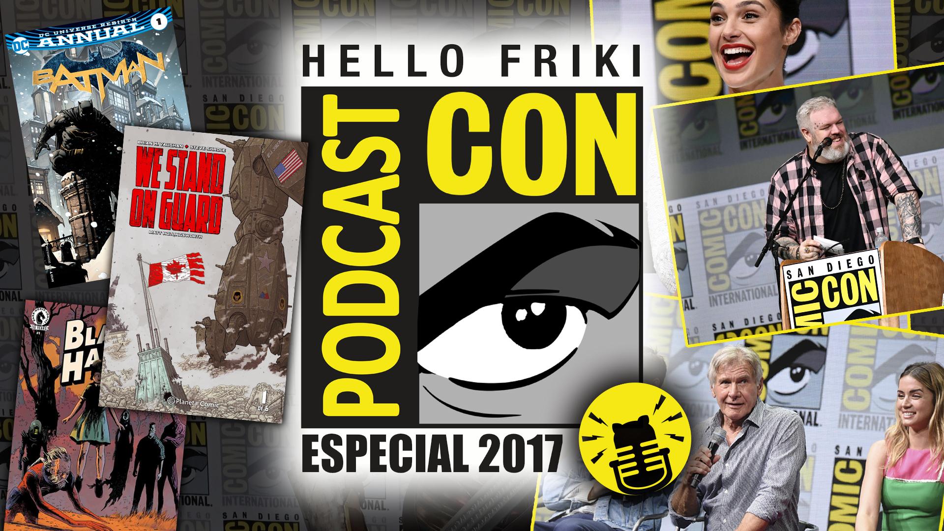 HF Especial Comic Con 2017