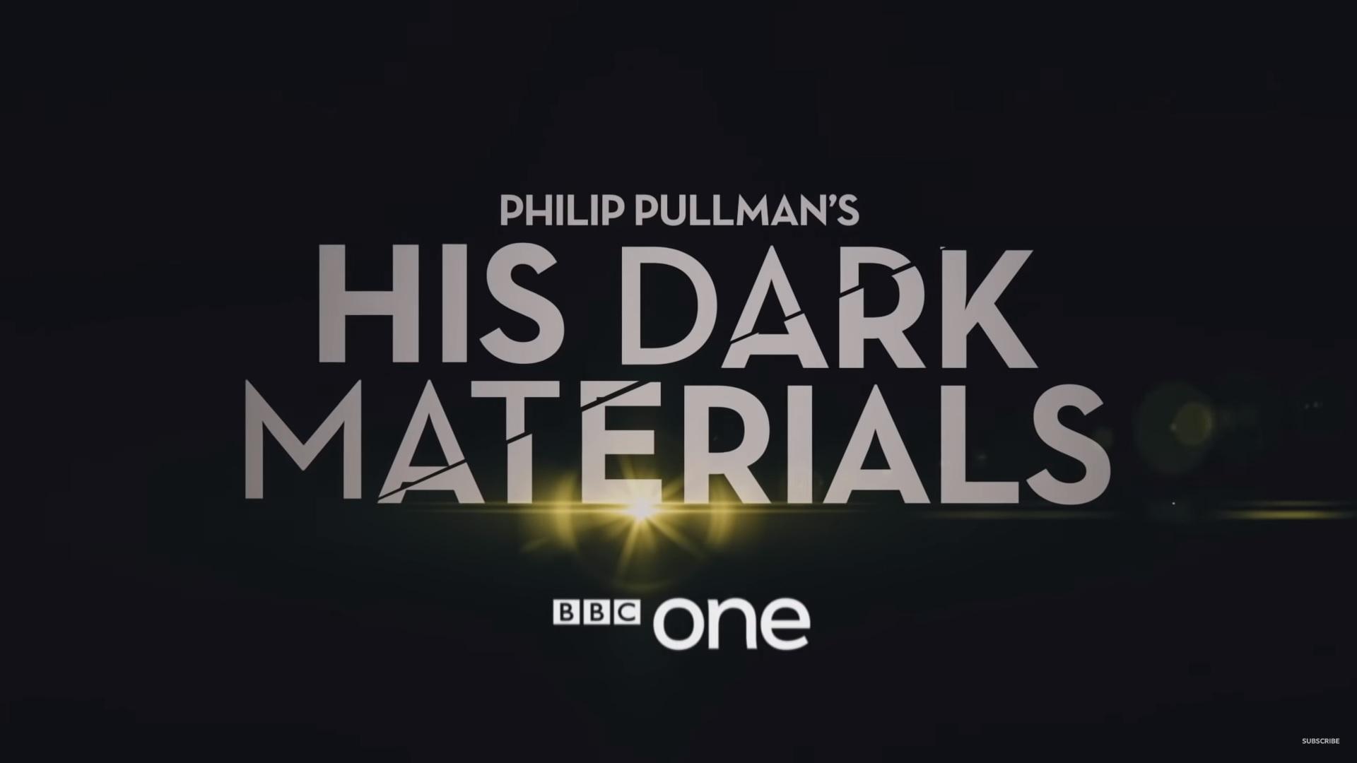 Portada His dark materials