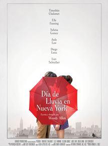 Ficha, tráiler y póster de Día de lluvia en Nueva York
