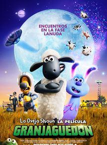 Póster de La oveja Shaun, la película: Granjaguedon