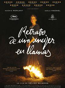 Ficha, tráiler y póster de Retrato de una mujer en llamas