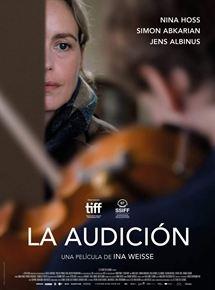 Ficha, tráiler y póster de La audición