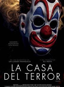 Ficha, tráiler y póster de La casa del terror