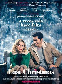 Ficha, tráiler y póster de Last Christmas