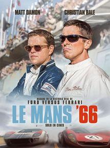 Ficha, tráiler y póster de Le Mans '66