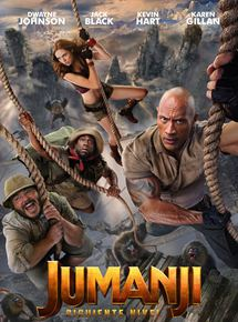 Ficha, tráiler y póster de Jumanji: Siguiente nivel