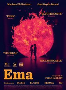 Ficha, tráiler y póster de Ema