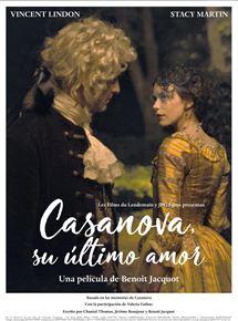 Ficha, tráiler y póster de Casanova, su último amor