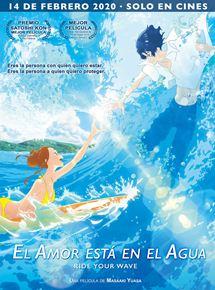 Ficha, tráiler y póster de El amor está en el agua