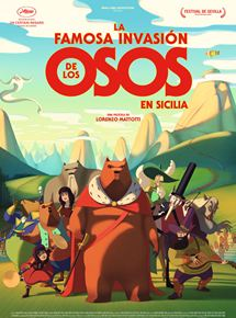Ficha, tráiler y póster de La famosa invasión de los osos en Sicilia