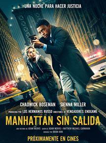 Ficha, tráiler y póster de Manhattan sin salida