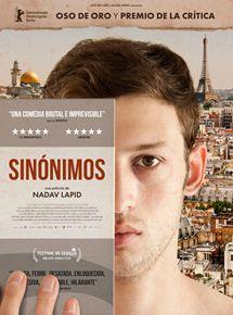 Ficha, tráiler y póster de Sinónimos