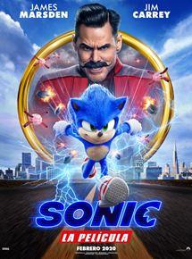 Póster de Sonic. La película
