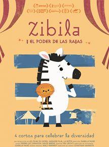Póster de Zibila y el poder de las rayas