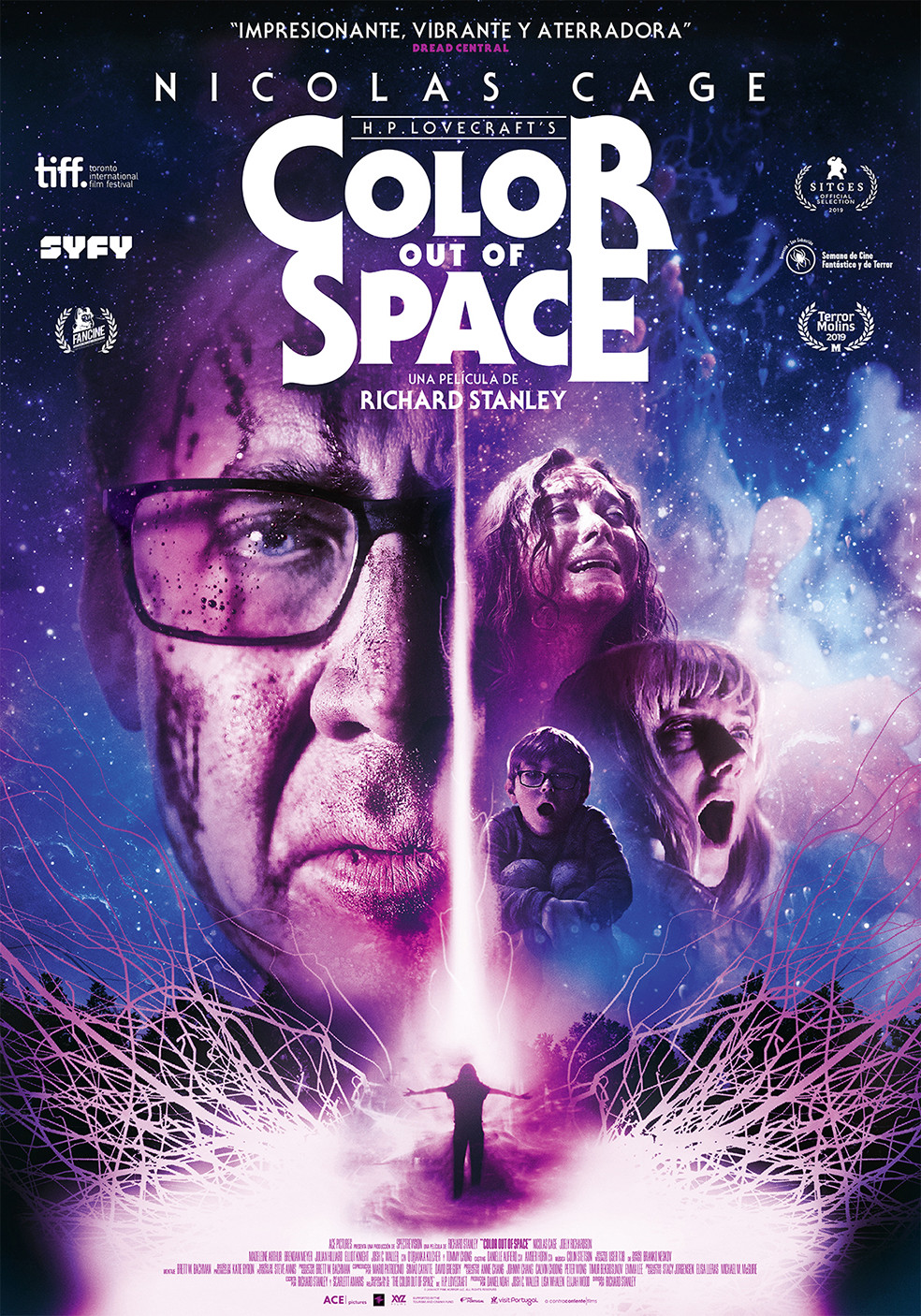 Ficha, tráiler y póster de Color Out Of Space